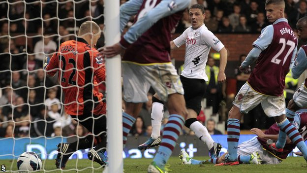 Chris Baird slots in Fulham's winner