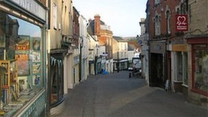 Stroud town centre