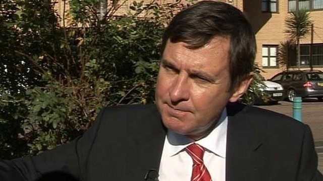 Welsh Rugby Union chief executive Roger Lewis