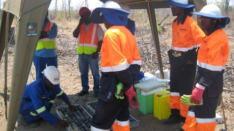 Ncondezi mine exploration