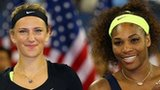 Victoria Azarenka and Serena Williams at the 2012 US Open