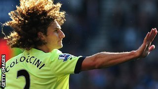 Newcastle defender Fabricio Coloccini