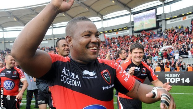 Toulon flanker Steffon Armitage