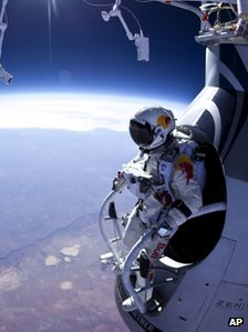Felix Baumgartner before a test