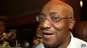 Suriname's former president Jules Wijdenbosch
