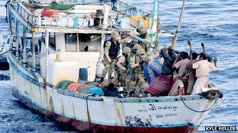 Somali pirates arrested