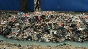 China rubbish