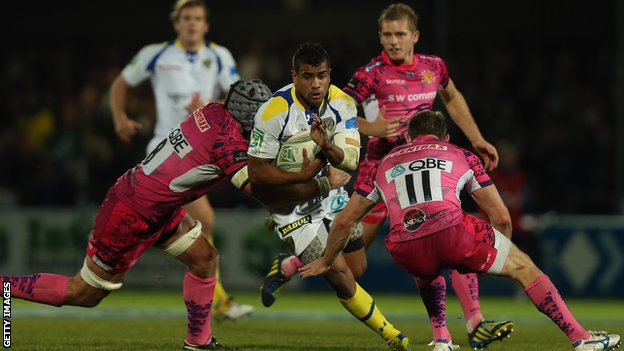 Wesley Fofana scored twice for Clermont