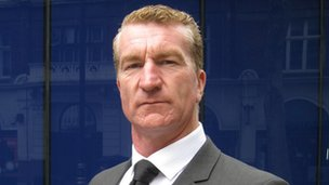 British Freedom Party candidate Kevin Carroll