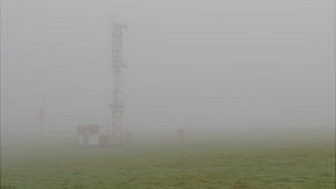 Fog at Guernsey Airport