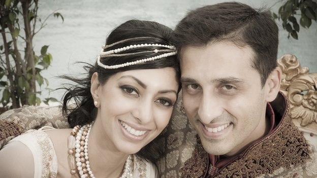 Raj Chinai with his wife Betsey