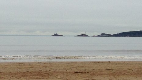 Swansea Bay looking over to Mumbles head