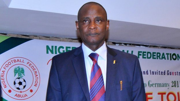 NFF president Aminu Maigar