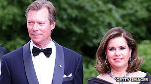 Grand Duke Henri and his wife Maria Teresa