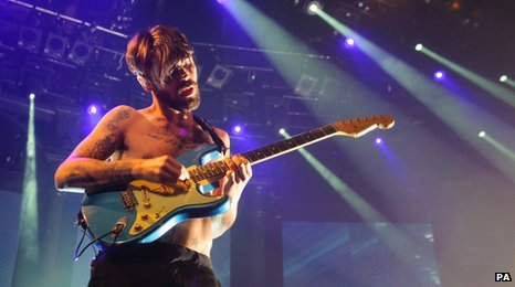 Biffy Clyro performing at the iTunes festival 2012
