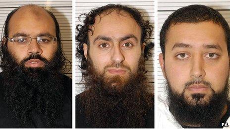 L to R: Irfan Naseer, Irfan Khalid and Ashik Ali