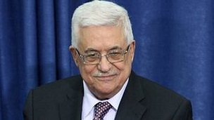 Mahmoud Abbas (file photo)