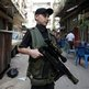 Armed Sunni boy in Tripoli, northern Lebanon (22 Oct)