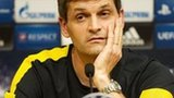 Vilanova addresses the media