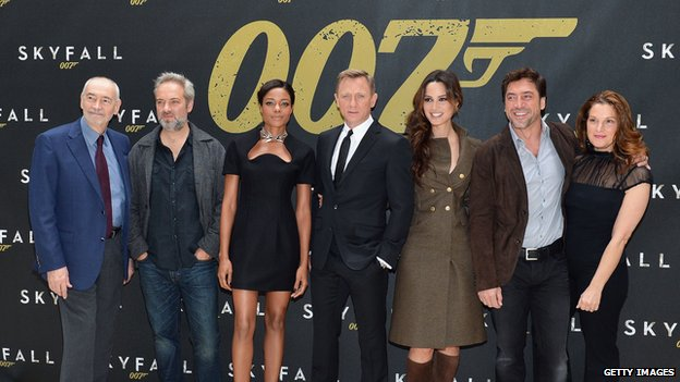 Bond cast 