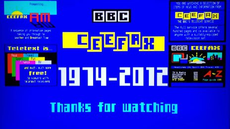 Ceefax last page