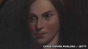 Portrait of Charlotte Bronte from the Bronte Museum