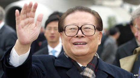 File photo: Jiang Zemin