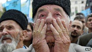 Crimean Tatar man