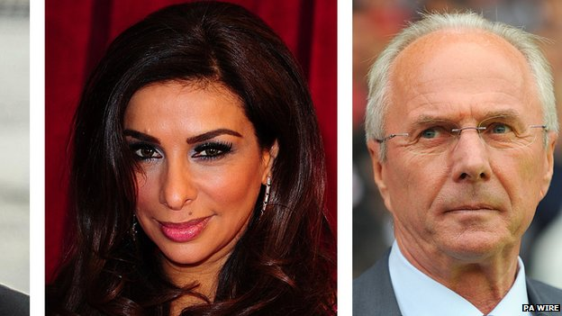 Shobna Gulati and Sven Goran Eriksson