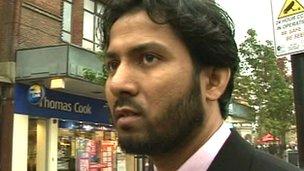 Mezanur Rashid, independent candidate
