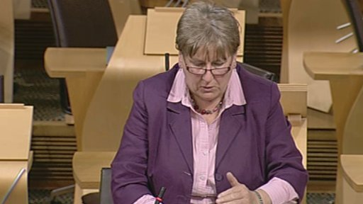 Conservative MSP Annabel Goldie