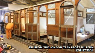 Metropolitan Railway Jubilee Carriage 353
