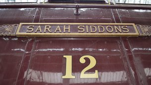 Sarah Siddons 12 electric locomotive