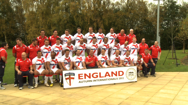 England Rugby League Team