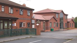 Red Rose nursing home in Farndon
