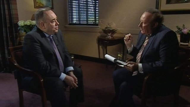 Alex salmond and andrew neil