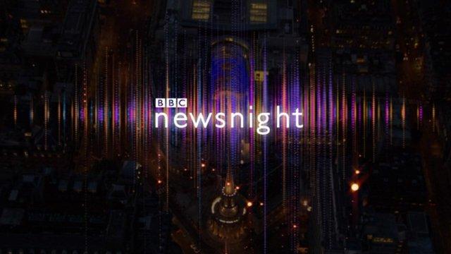 BBC Newsnight title graphic