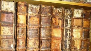 Books from Benburb collection