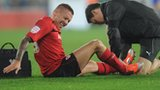 Craig Bellamy receives treatment