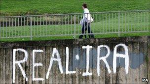 Real IRA mural