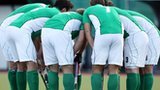 Ireland's pre-match huddle