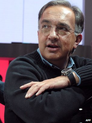 Fiat and Chrysler chief Sergio Marchionne