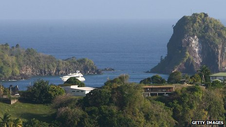 St Vincent and the Grenadines landscape