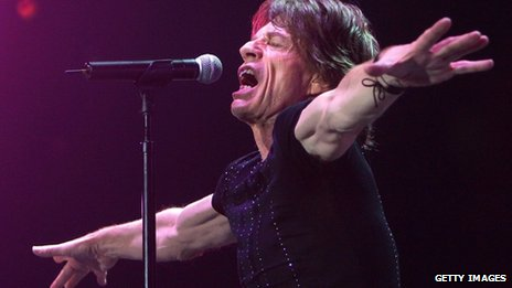 Mick Jagger in concert, 2008