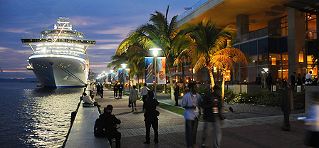 Promenade at Port of Spain