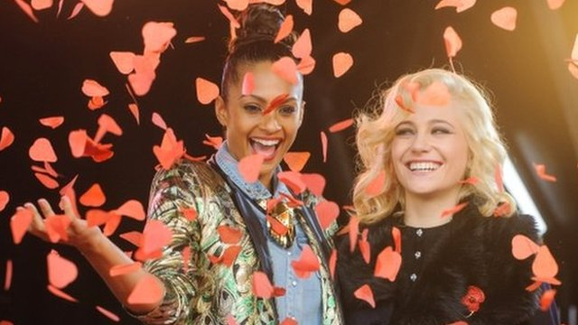 Alesha Dixon and Pixie Lott