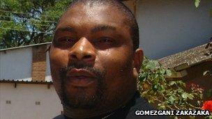 Malawian boxing promoter Mike Chitenje