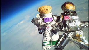 Teddy bears at 30km (CU Spaceflight Team)