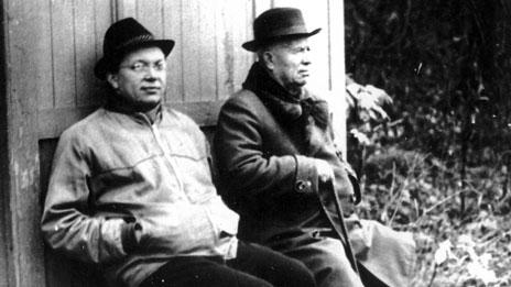 Sergei and Nikita Khrushchev