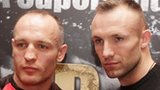 Brian Magee and Mikkel Kessler in Belfast on Wednesday